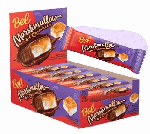 Chocolate Marshmallow e Caramelo com 18 unidades de 30g - Bel