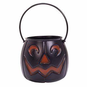 Caldeirão  Abóbora Dark  -18 cm - Halloween - Flex
