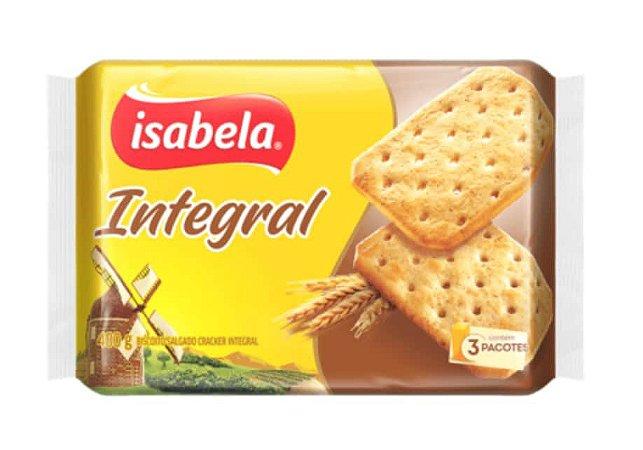 Biscoito Salgado Integral 400 g - Isabela