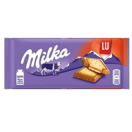 Chocolate LU Biscoito 100g - Milka