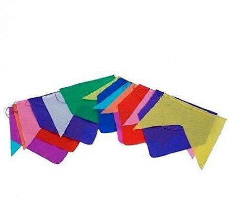 Bandeira Bandeirola De Plastico 10m