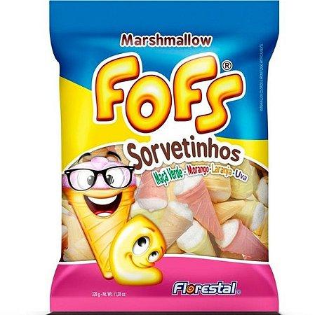 Marshmallow Fofs Sorvetinho160g- Florestal