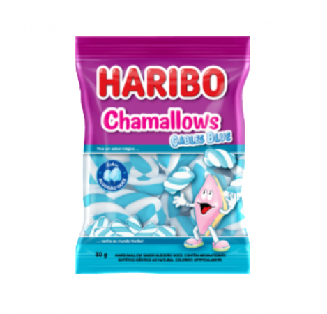 Marshmallows Cables Blue 250G Haribo