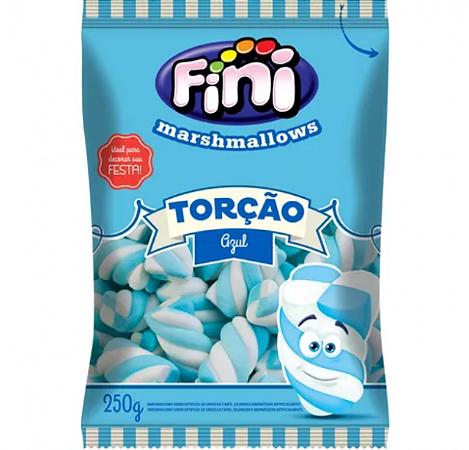 Marshmallows Torção Azul 250g - Fini