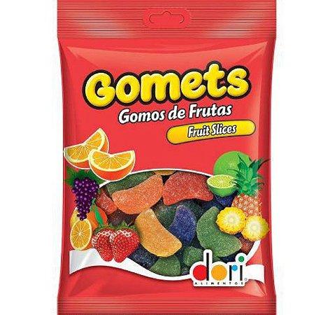 Bala De Goma Gomets Gomos De Frutas Fruit Slices 300g - Dori