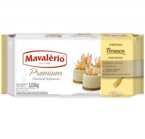Cobertura Premium Sabor Chocolate Branco 1,01 Kg Mavalério