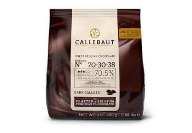Chocolate Amargo 70,5% Cacau Gotas 400g - Callebaut