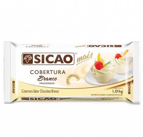 Barra Cobertura Sicao Mais Branco 1,01Kg -  Sicao