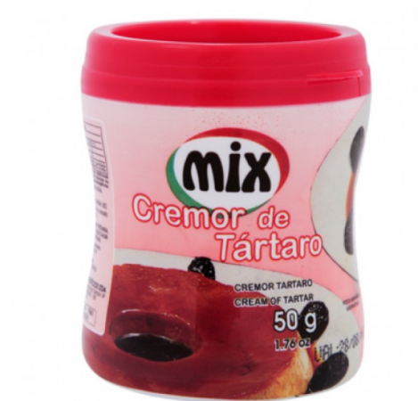 Cremor De Tártaro 50G - Mix
