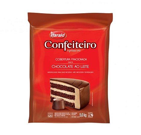 Chocolate Confeiteiro Ao Leite Barra 5Kg Harald