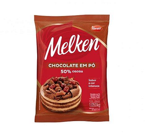 Chocolate Em Pó 50% Melken 1,050 Kg - Harald