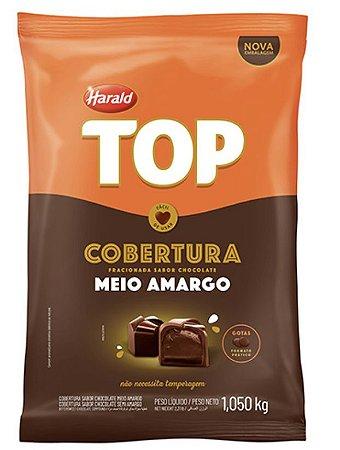 Chocolate Top Meio Amargo Gotas 1,050 Kg - Harald