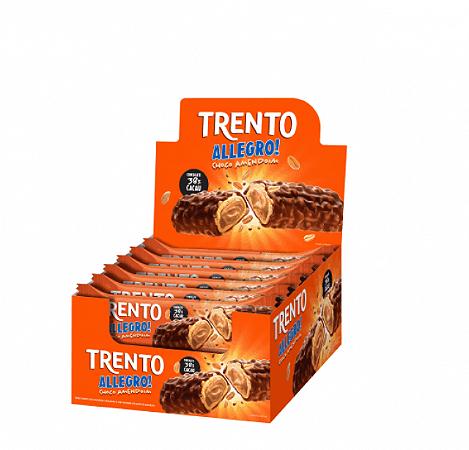 Trento Allegro Choco Amendoim 16 Unidades de 35g -  Peccin
