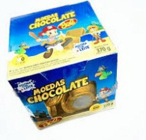 Moeda Chocolate Bel 370g 100 Un