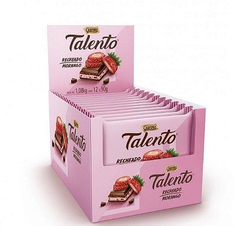 Chocolate Talento Recheado Morango 90G C/12 - Garoto