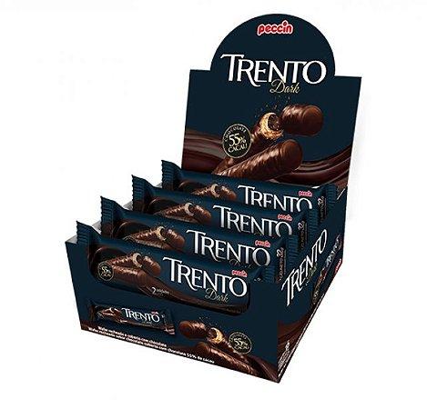 Chocolate Com Wafer Trento Recheio Dark Com 16 Un - Peccin