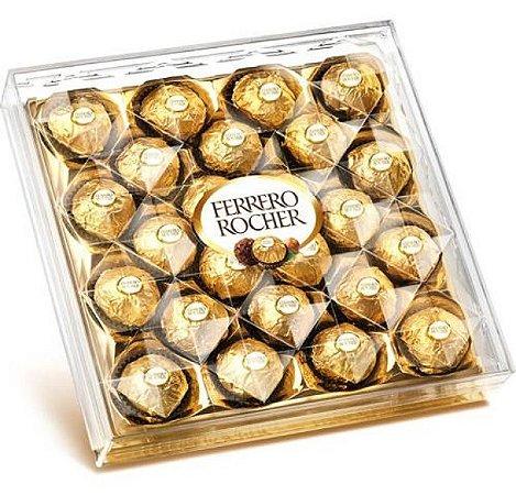 Caixa De Bombom Com 24 Unidades 350G - Ferrero Rocher