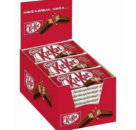 Chocolate Kit Kat Ao Leite Nestlè C/ 24 Un.