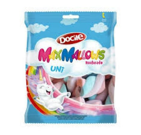 Marshmallow Recheado Twist Color Unicórnio 220G Docile