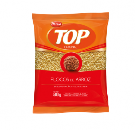 Flocos De Arroz Top 500g -  Harald