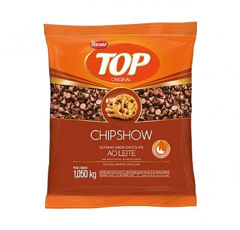 Gotas De Chocolate Chipshow Ao Leite Top 1,050 Kg - Harald