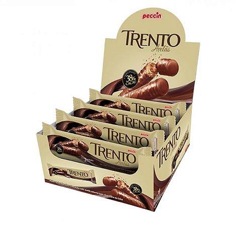 Chocolate Com Wafer Trento Avelã Com 16 Un - Peccin