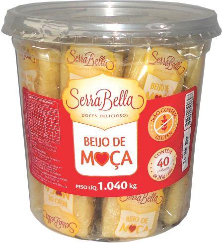 Pote Beijo de Moça Serra Bella 1,040kg c/40