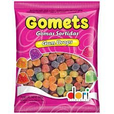 Bala De Goma Sortidas Gomets 500g - Dori