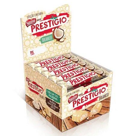 Chocolate Prestígio Branco 33g c/30 - Nestle
