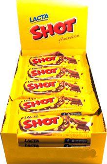 Chocolate Shot 20g c/20 - Lacta
