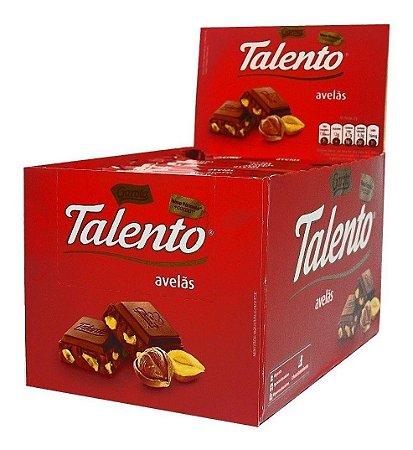 Chocolate Talento Avelã 12X90g - Garoto