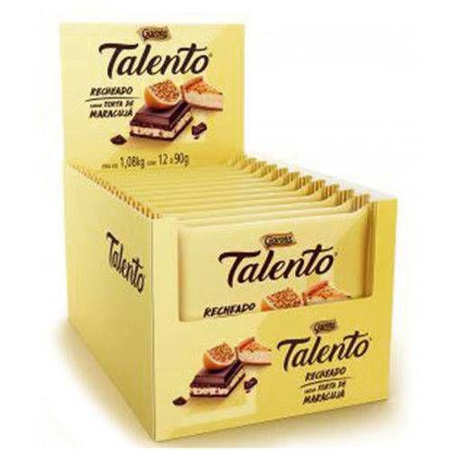 Chocolate Talento Recheado Maracujá 90G C/12 - Garoto