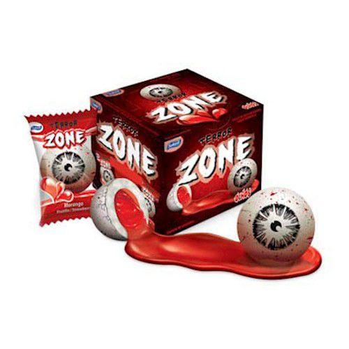Chiclete Terror Zone Olhos 320g com 40 Unidades - Sukest