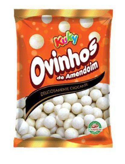 Ovinho De Amendoim Tradicional 200g - Kuky