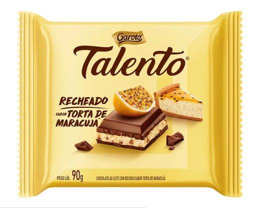 Chocolate Garoto Talento Recheado Torta de Maracujá com 90g