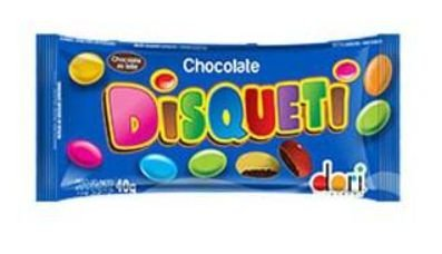 Disqueti Chocolate 40g - Dori