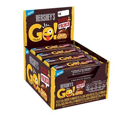 Chocolate com Paçoca 16 un. 25g - Hersheys