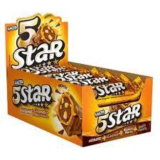 Chocolate 5star 40g c/18 - Lacta