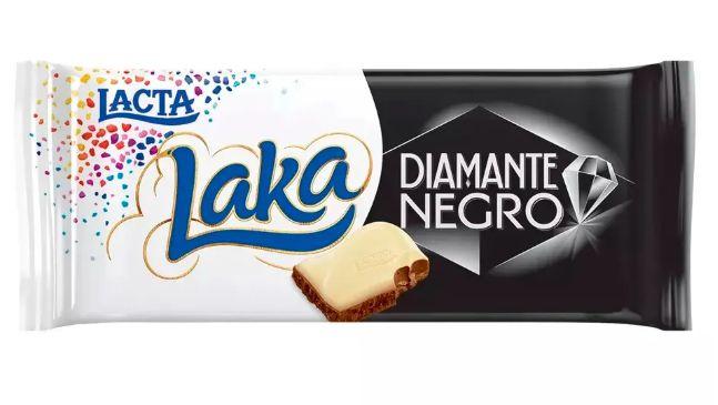 Chocolate Lacta Diamante Negro Laka 90g
