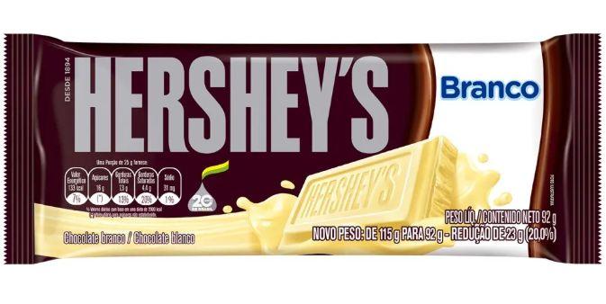 Chocolate Branco Hershey's 92g