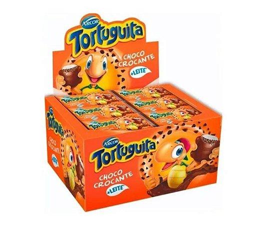 Chocolate Tortuguita Choco crocante 18g c/24 - Arcor