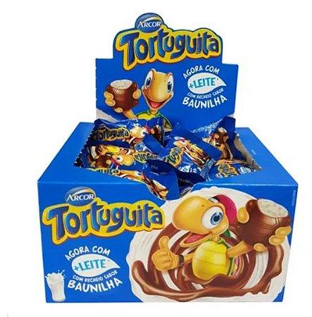 Chocolate Tortuguita Ao Leite Baunilha 18g c/24 - Arcor