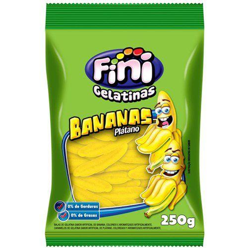 Bala Gelatina Fini Banana  250g