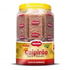 Doce de Amendoim Caipirão  1,1kg c/ 20 Un Pote - Gulosina