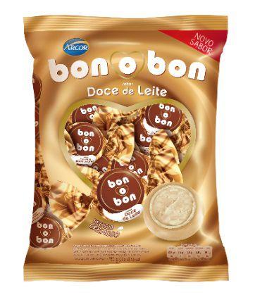 Bombom Bonobon Doce de Leite 50 unidades - Arcor
