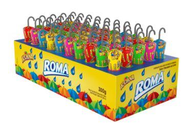 K-chuva Sabor Chocolate ao Leite Display 300g- Roma