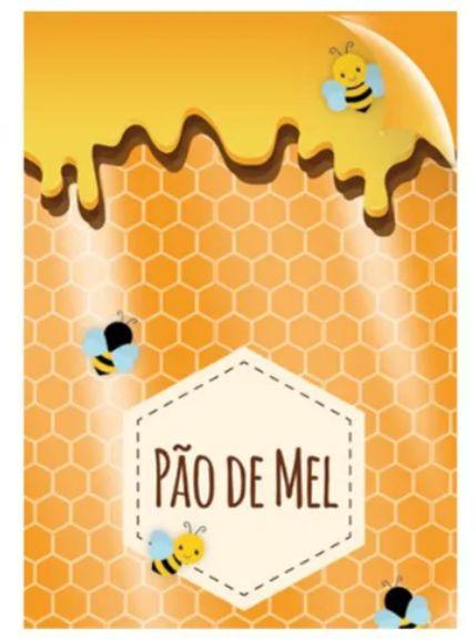 Saco Poli Pão de Mel 10x14cm C/50 - Cromus