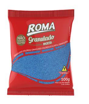 Granulado Azul Macio 500g -  Roma