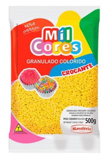 Granulado Amarelo Crocante 500g - Mavalerio