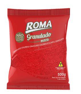 Granulado Vermelho Macio 500g - Roma